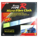 T16219 - Microfiber cloth 3pcs set
