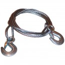 T21003 - Tow rope, 5T, steel