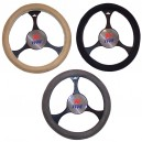 T12039 - Steering wheel cover, velour touch