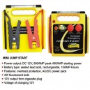T14005 - Compact jumpstart system with lamp, 12V DC, 900 A